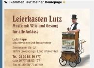 Leierkasten Lutz