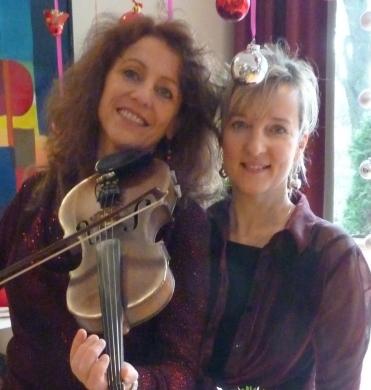 Dörte Siebecke und Claudia Himmel -2015